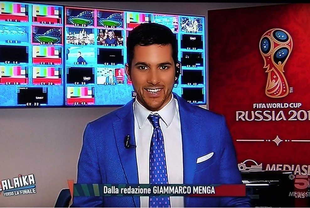Giammarco Menga giornalista eta39