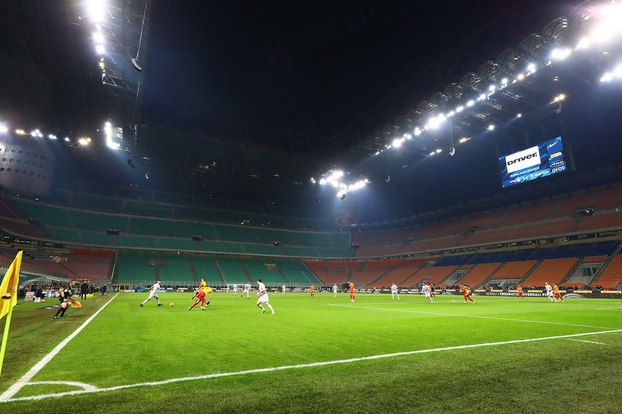 San Siro in Inter-Benevento