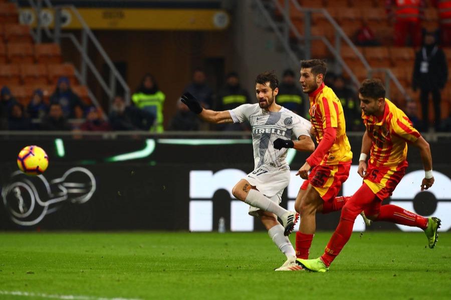 Il secondo gol di Candreva