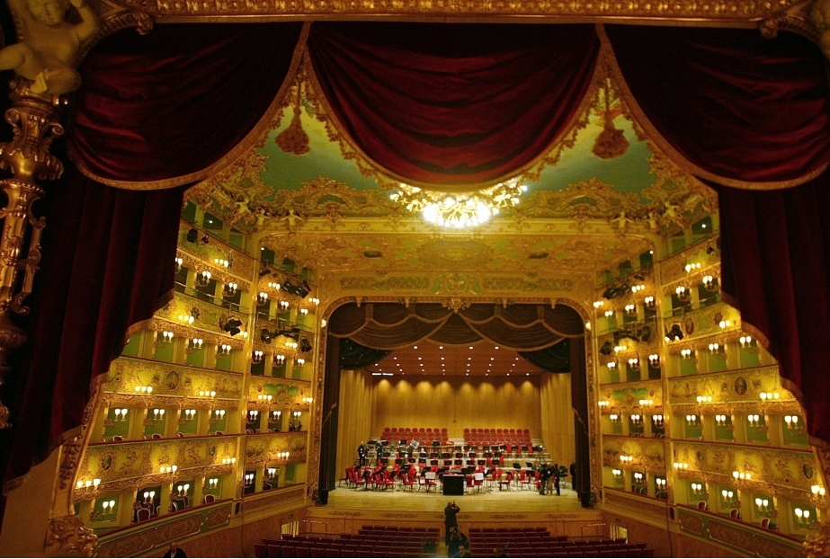 Famous Theater La Fenice Reopens In Veni