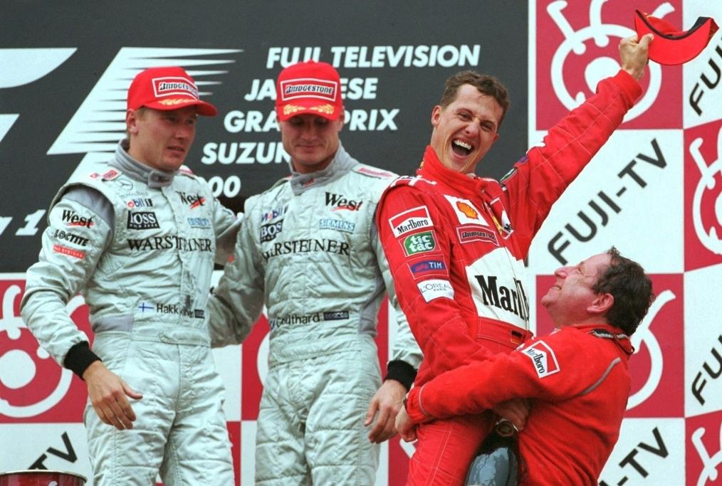 FORMEL 1 GP VON JAPAN 2000
