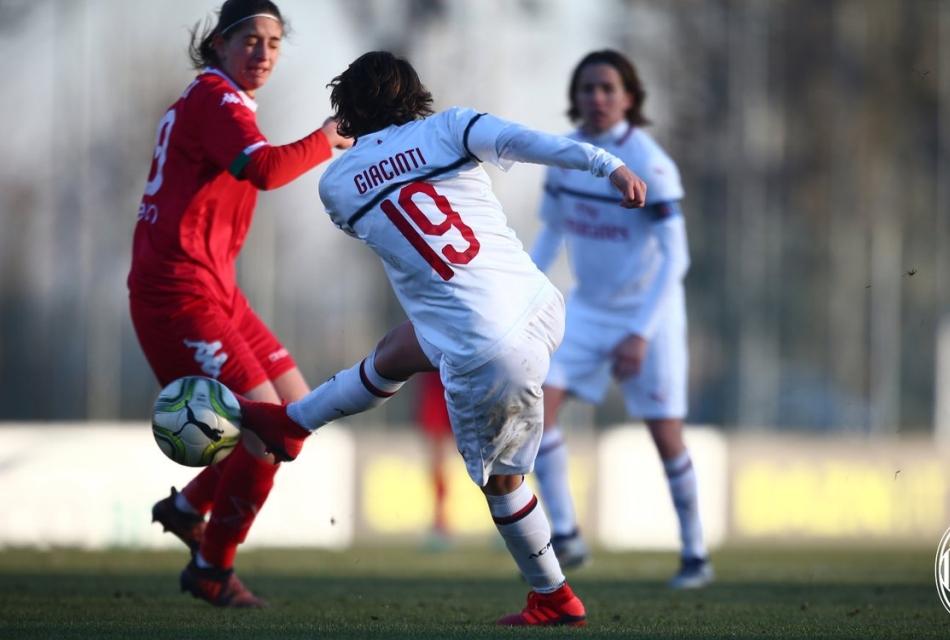 Valentina Giaciti in gol