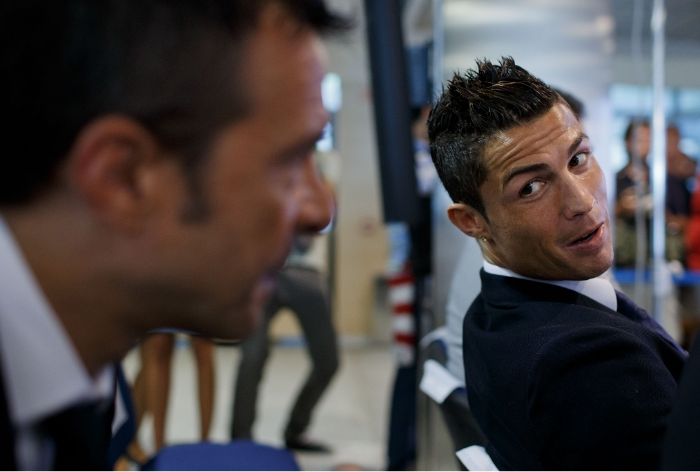 Cristiano Ronaldo Signs Contract Renewal