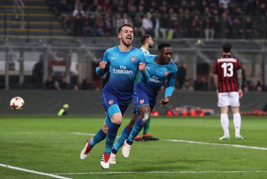 AC Milan v Arsenal - UEFA Europa League
