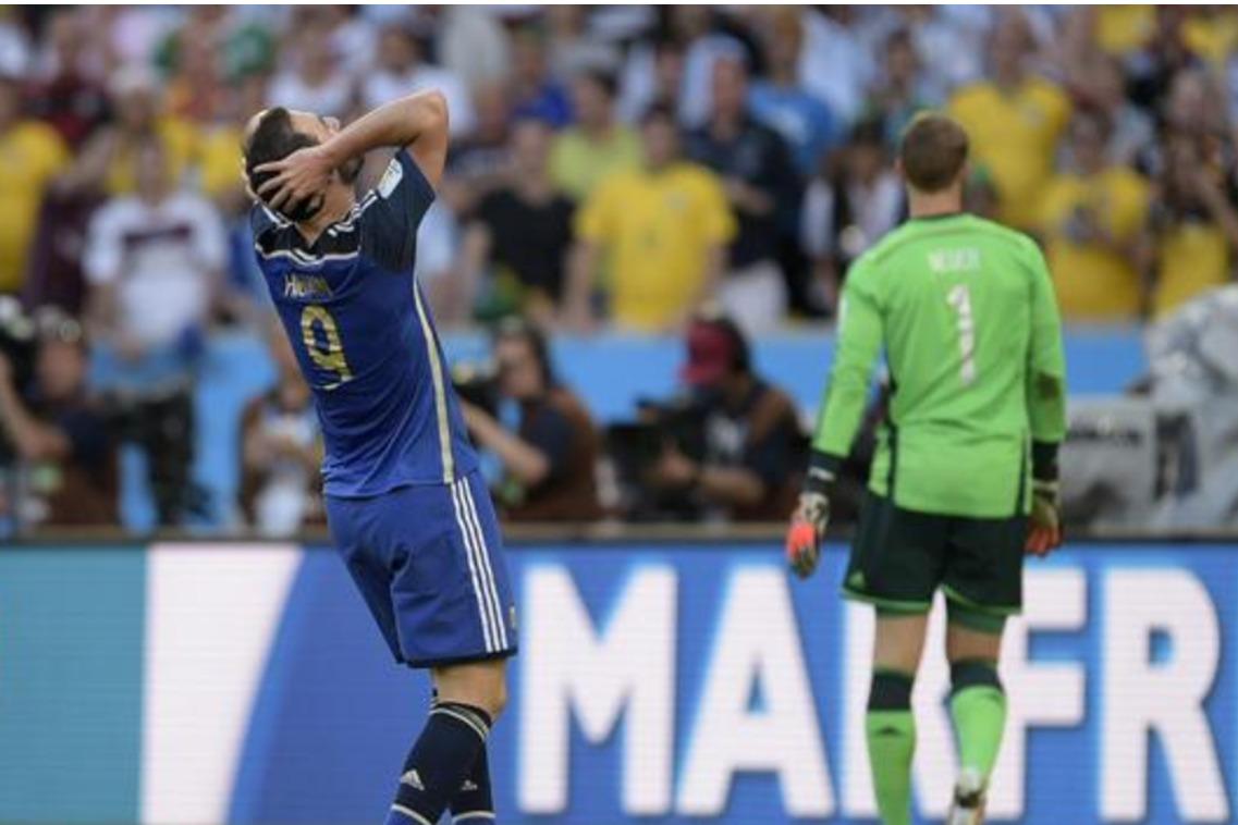 Higuain Goal Sbagliato Mondiali