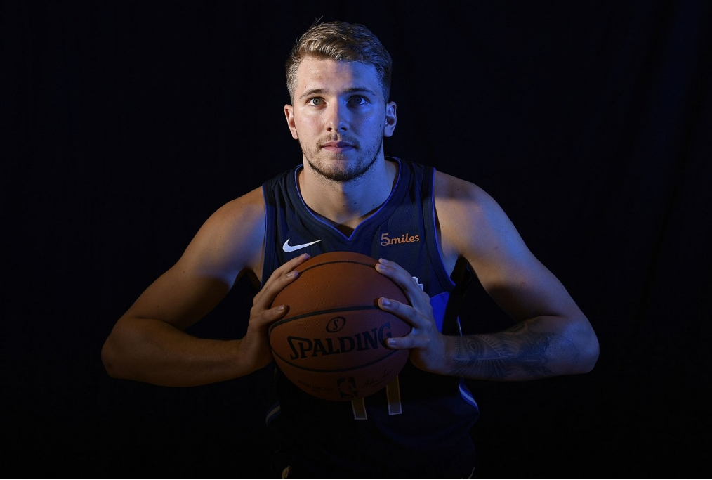 TARRYTOWN NY - AUGUST 12 Luka Doncic 77