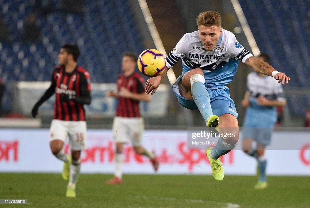 Lazio - Milan semifinale Coppa Italia 2