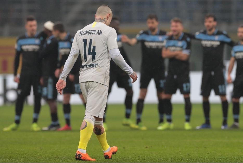 FC Internazionale v SS Lazio- Coppa Ital
