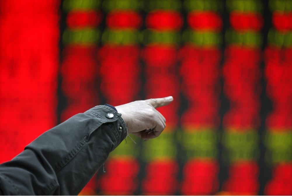 The Shanghai Composite Index Rises 252