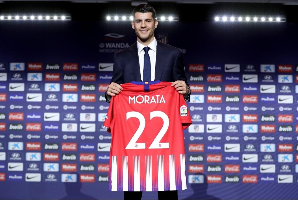 Club Atletico de Madrid unveil new signi