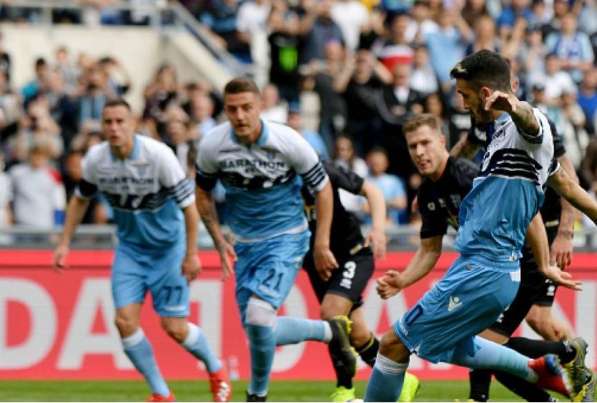 Lazio -Parma 28 giornata serie A