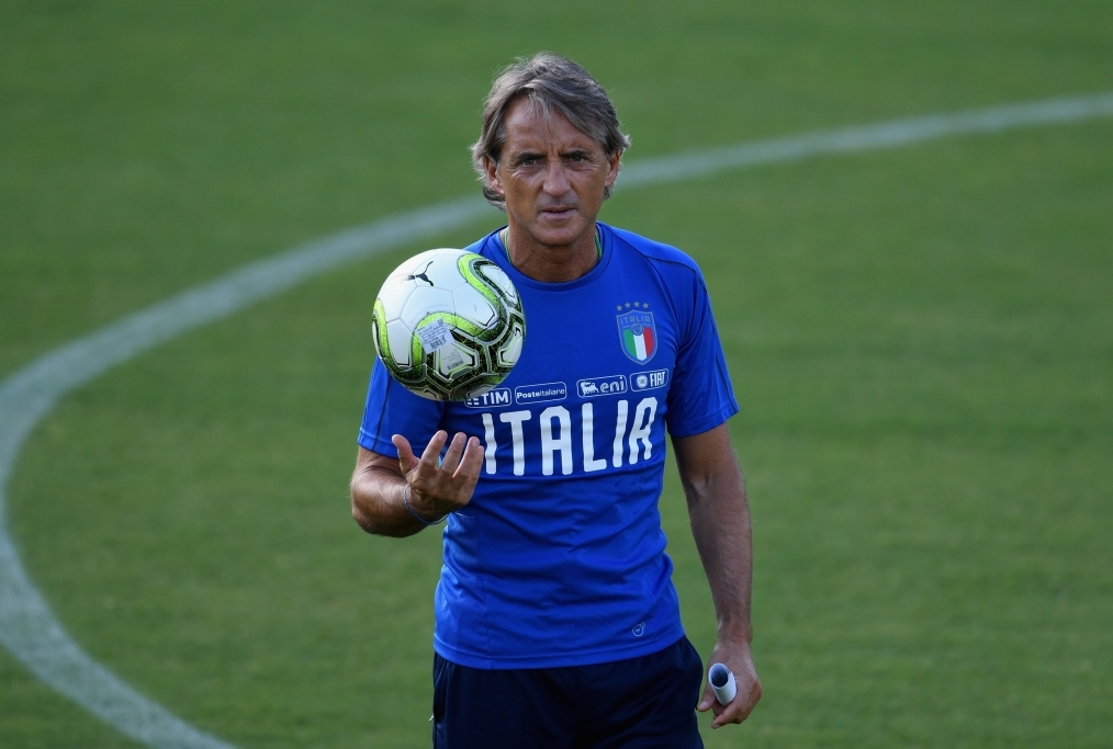 Italy Training Session And Press Confere