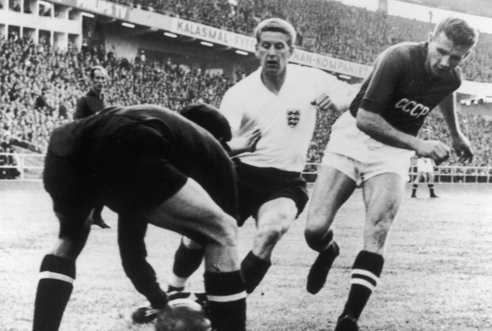 England - URSS World Cup 1958 Gotheburg
