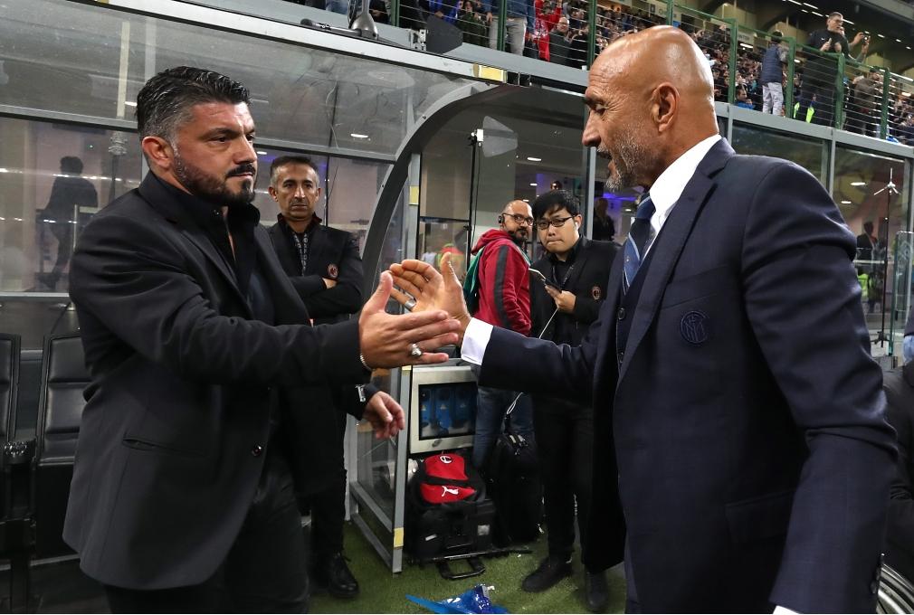 MILAN ITALY - OCTOBER 21 Head coach of