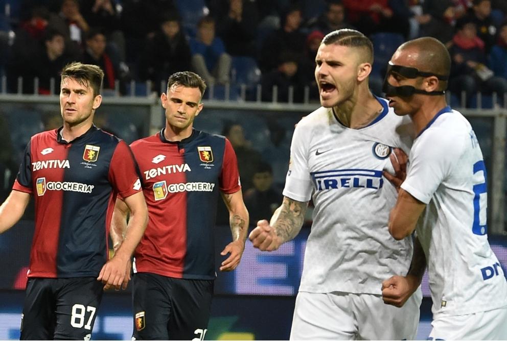 Icardi nel suo ritorno contro il Genoa
