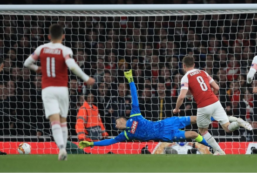 Arsenal-Napoli quarti di Europa League