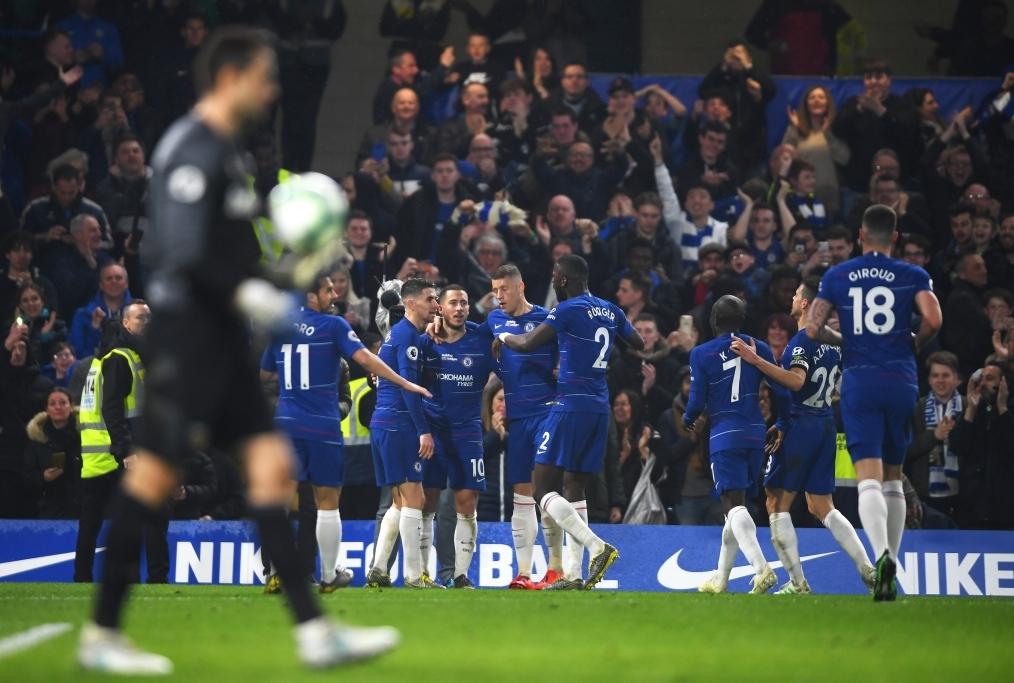 Chelsea FC v West Ham United - Premier L