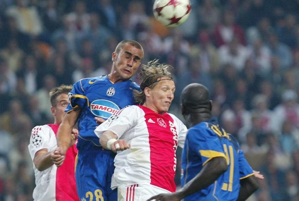 Fussball CL 0405 Ajax Amsterdam-Juventus