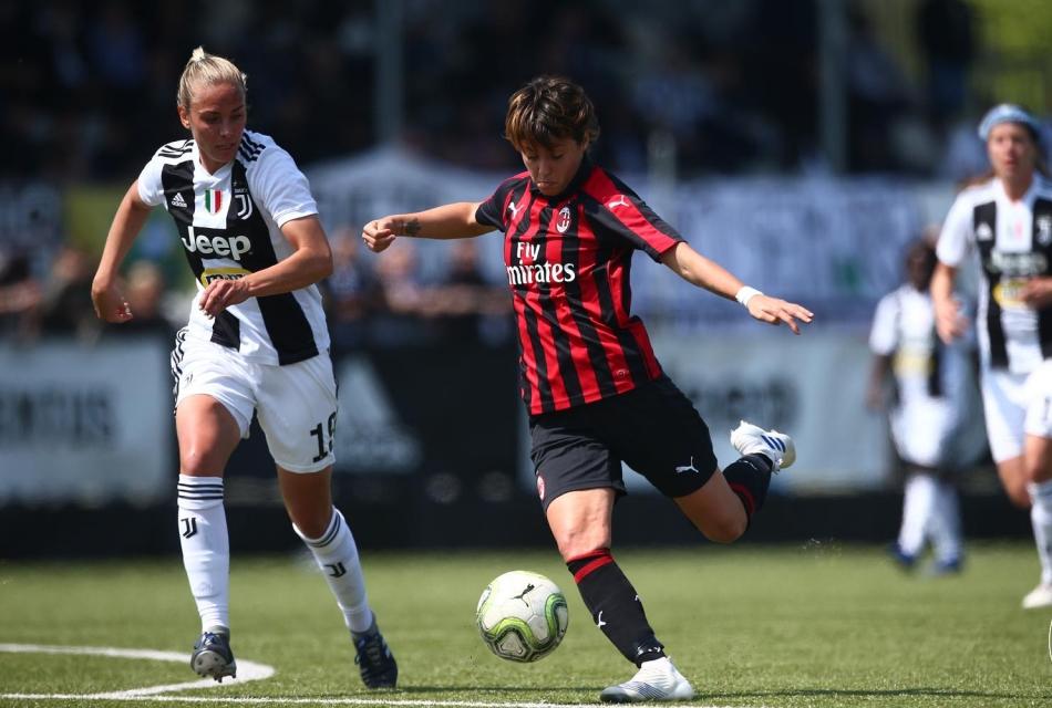 Coppa Italia Femminile Juventus-Milan 1-