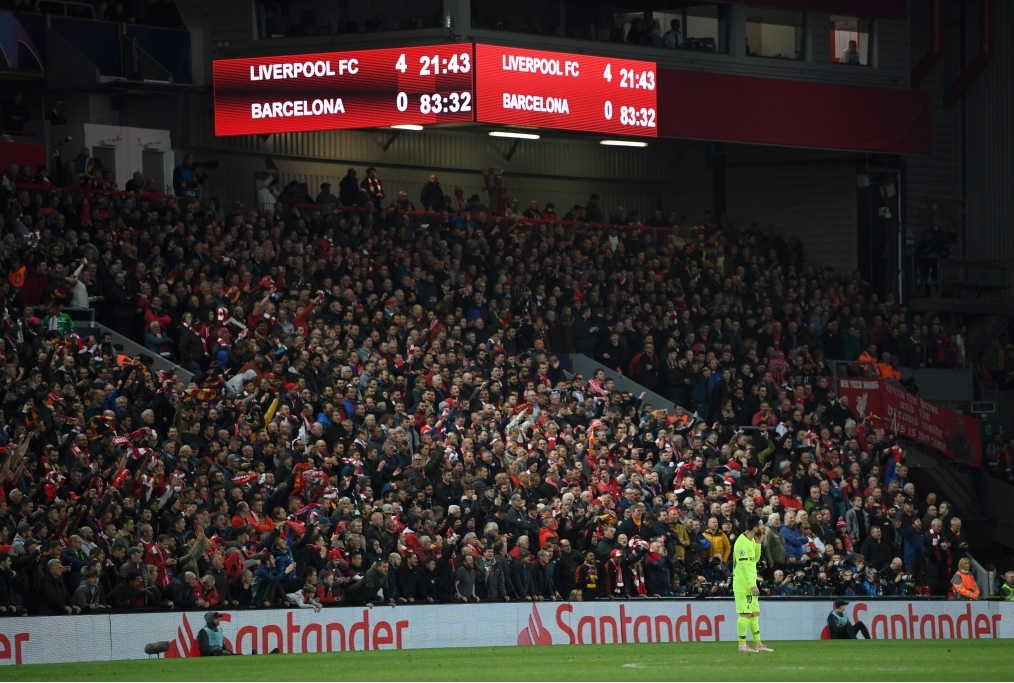 Liverpool v Barcelona - UEFA Champions L