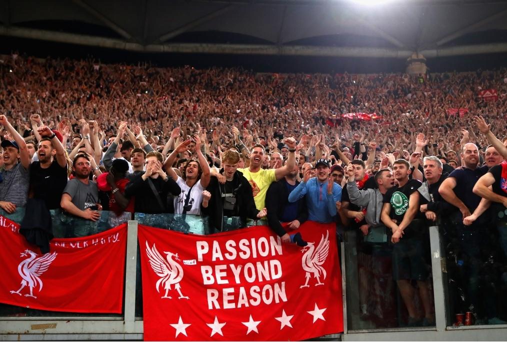 AS Roma v Liverpool - UEFA Champions Lea