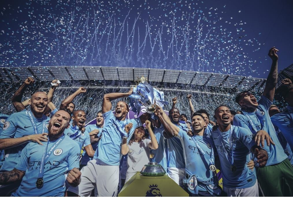 Manchester City v Huddersfield Town - Pr