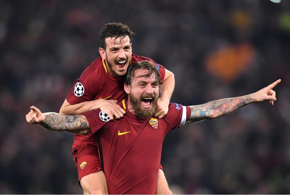 AS Roma v FC Barcelona - UEFA Champions