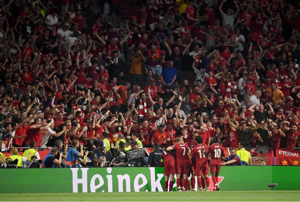 Tottenham Hotspur v Liverpool - UEFA Cha