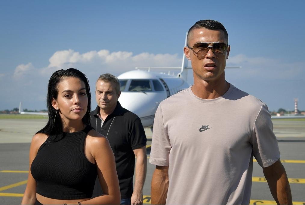 Cristiano Ronaldo e Georgina sua compagn