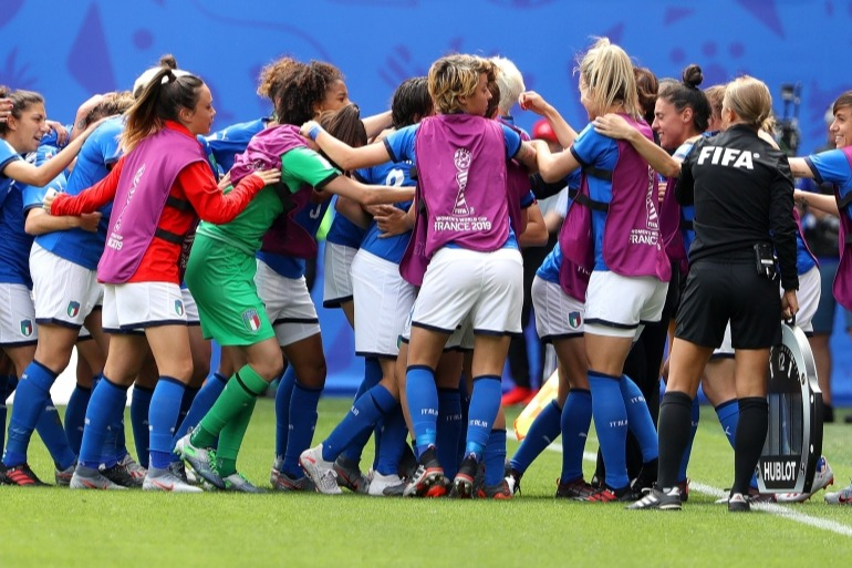 Australia v Italy: Group C - 2019 FIFA Women's World Cup France