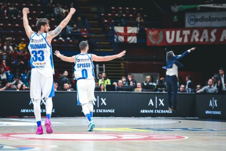 Milano-Sassari gara 2 semifinali