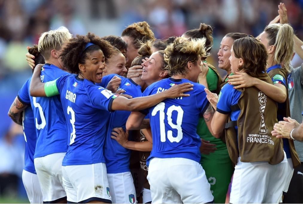 Italy v China Round Of 16 - 2019 FIFA W
