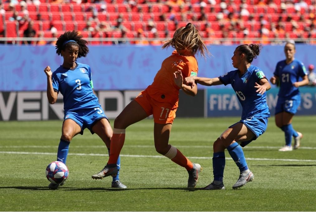 Italy v Netherlands Quarter Final - 201