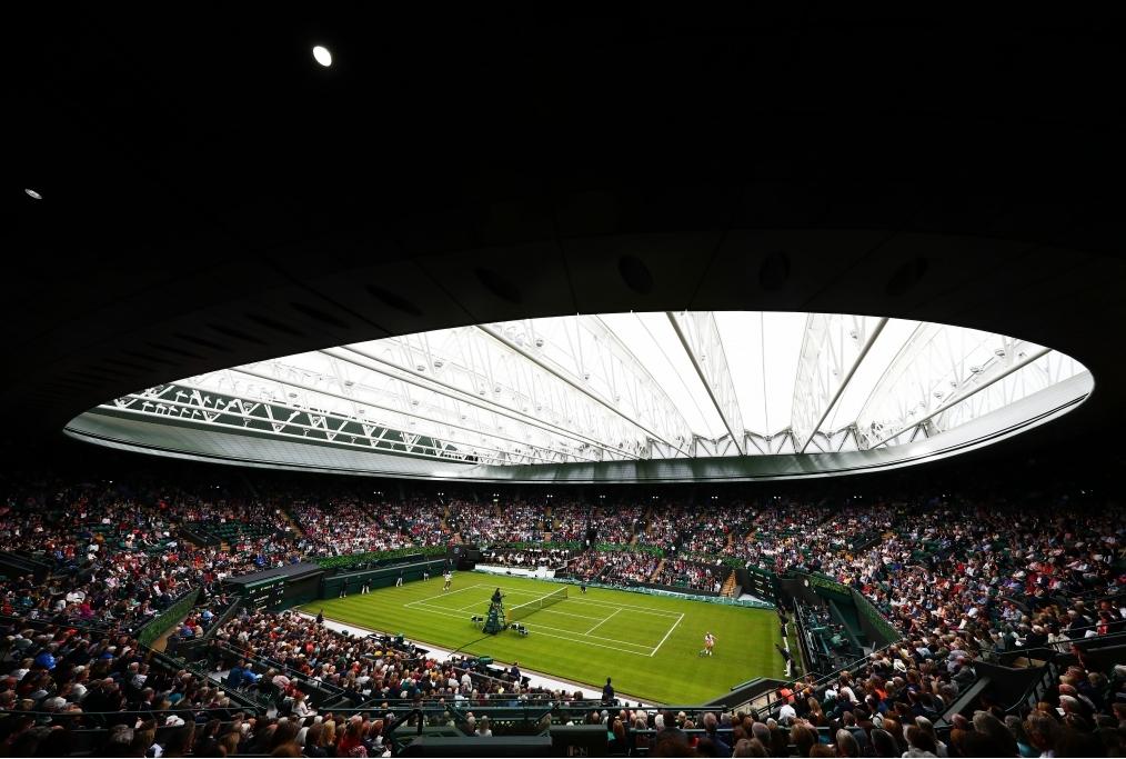 Wimbledon Court No 1 Celebration in supp
