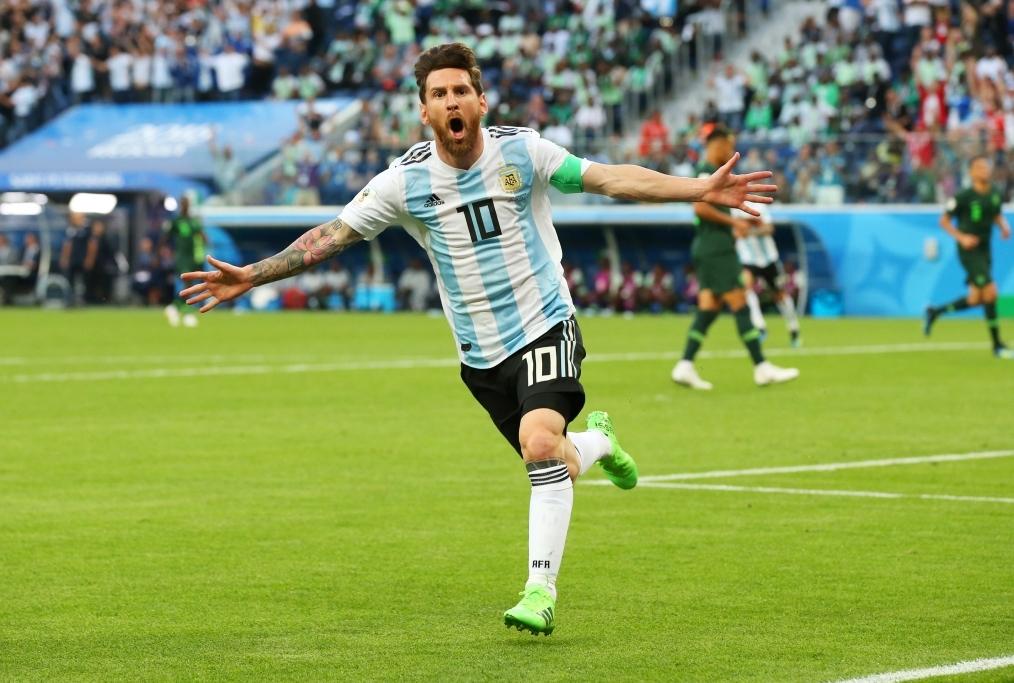 Nigeria v Argentina Group D - 2018 FIFA