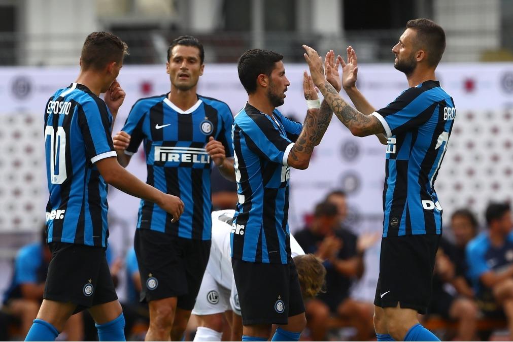 Lugano v FC Internazionale - Pre-Season Friendly