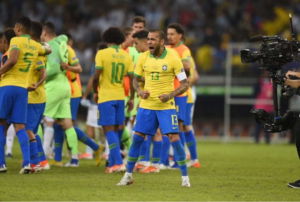 Brazil v Argentina Semi Final - Copa Ame