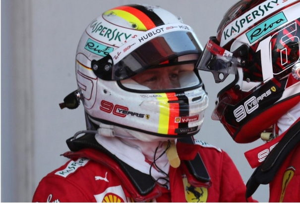 Leclerc - Vettel