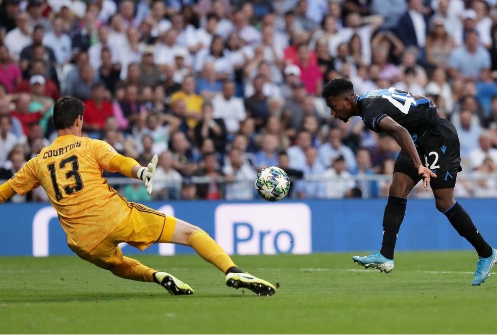 Real Madrid v Club Brugge KV Group A - U
