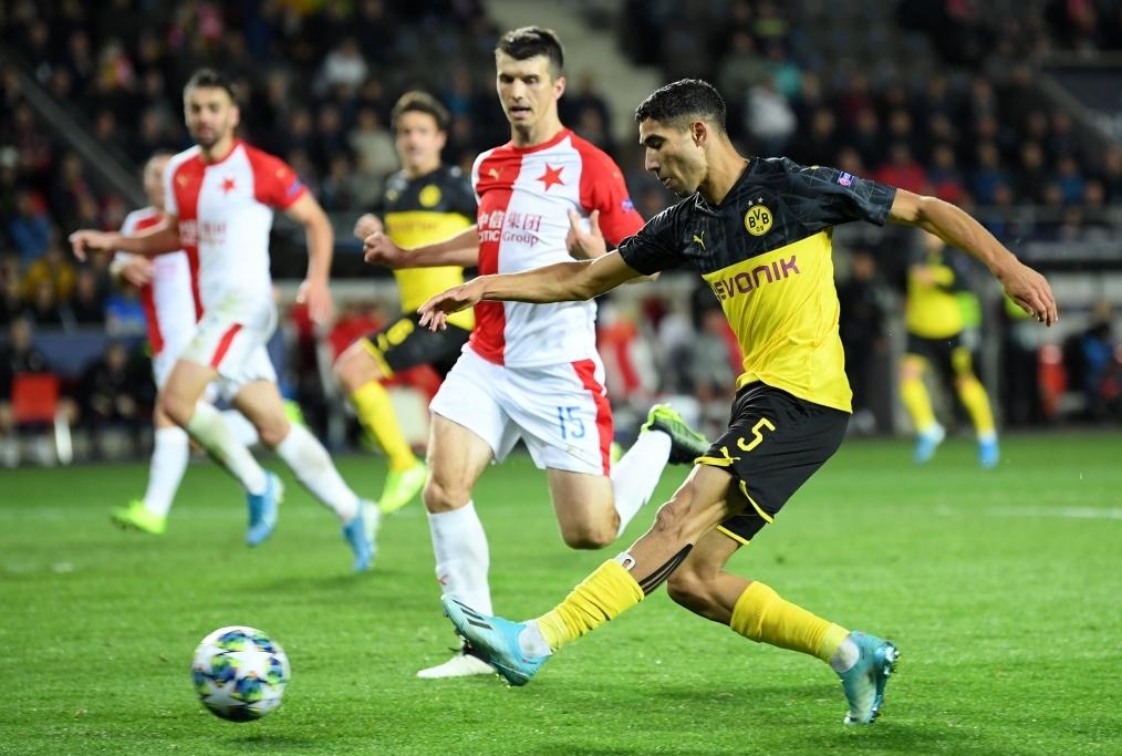 Slavia Praha v Borussia Dortmund Group F
