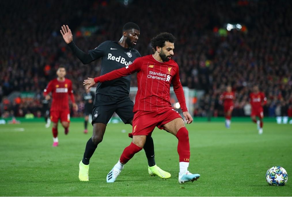Liverpool FC v RB Salzburg Group E - UEF