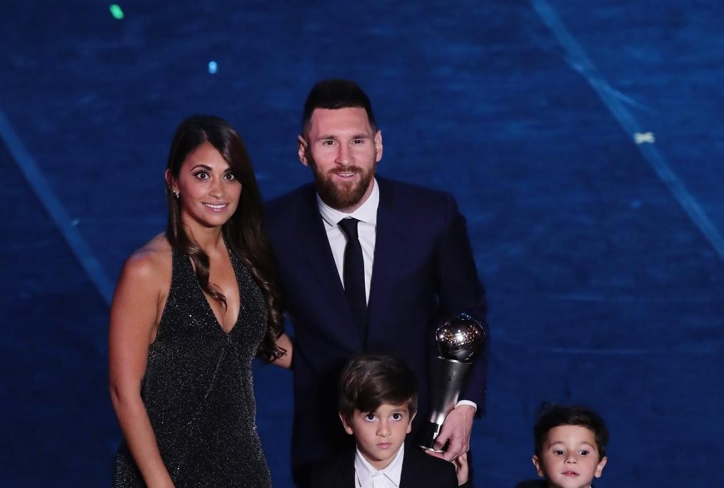 Messi e famiglia
