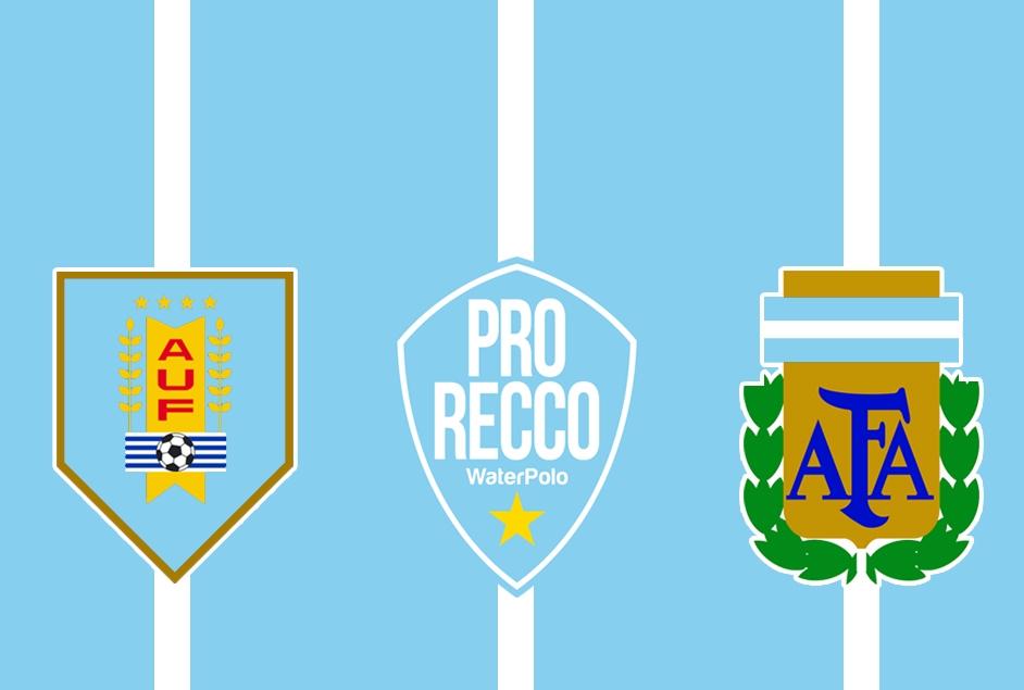 Uruguay Pro Recco ed Argentina