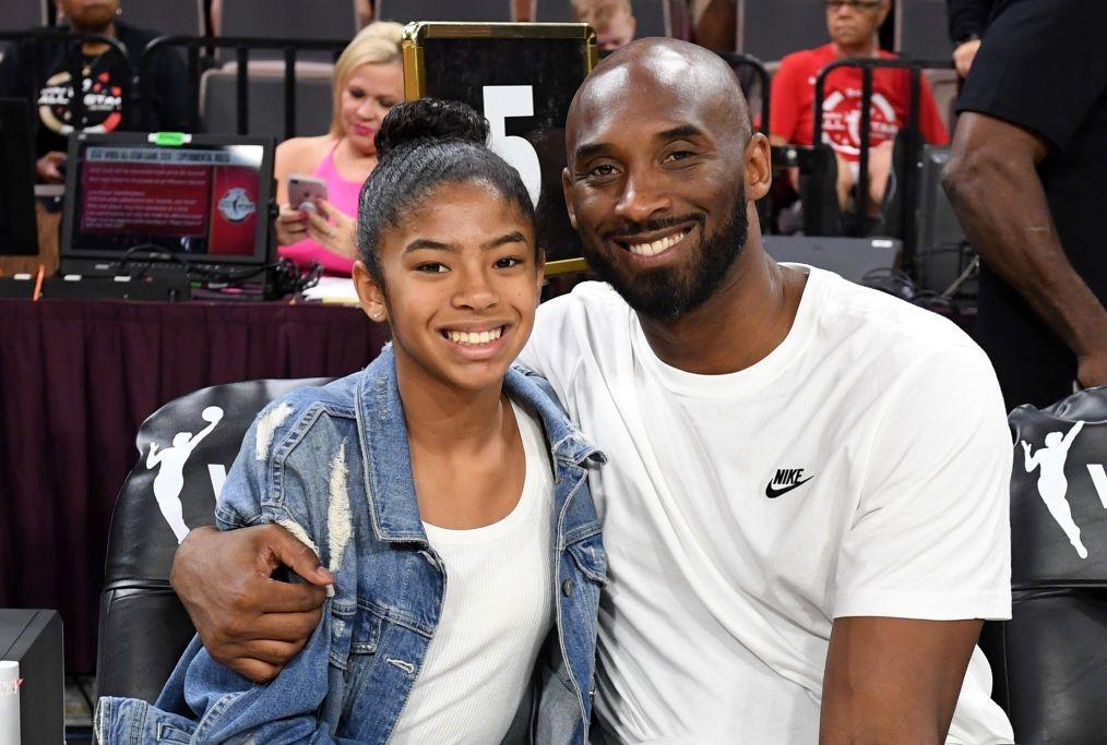 Kobe e sua figlia Gianna