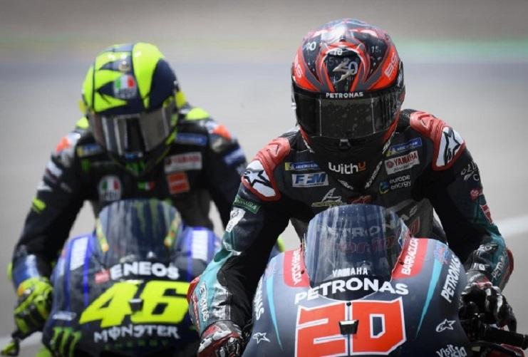 Rossi e Quartararo