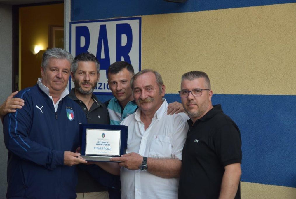 FIGC premiazione Rossi