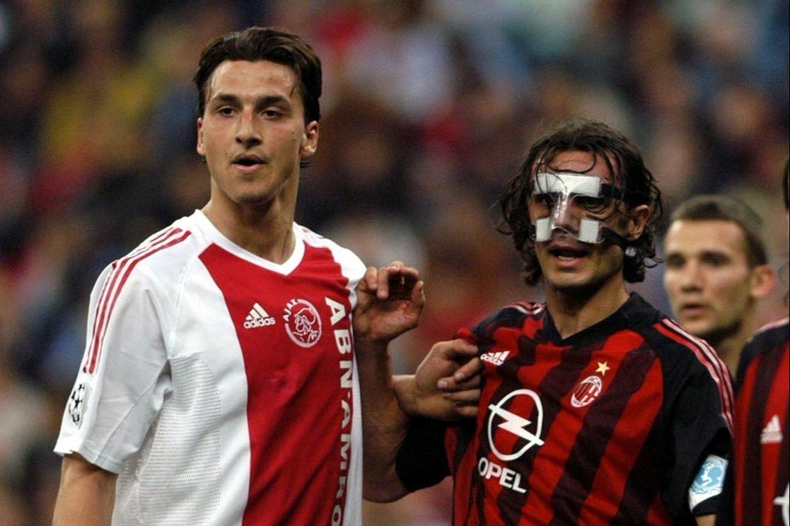 Ibrahimović e Maldini