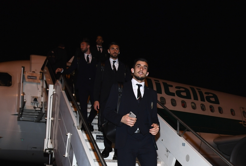 Italy Arrives In Parma