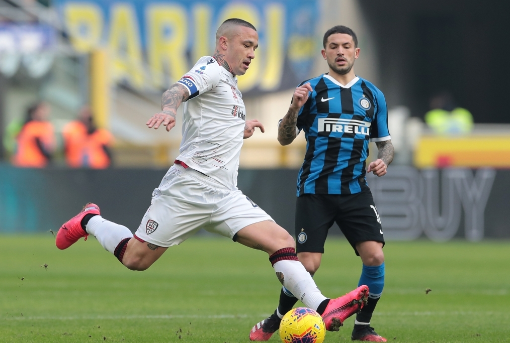 FC Internazionale v Cagliari Calcio - Se