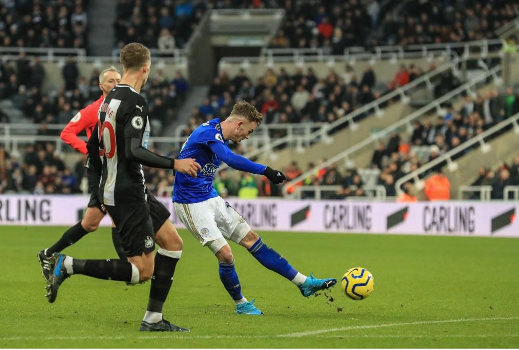 il 2 a 0 del Leicester contro il Newcast